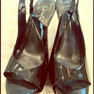Black heels by Jessica Simpson